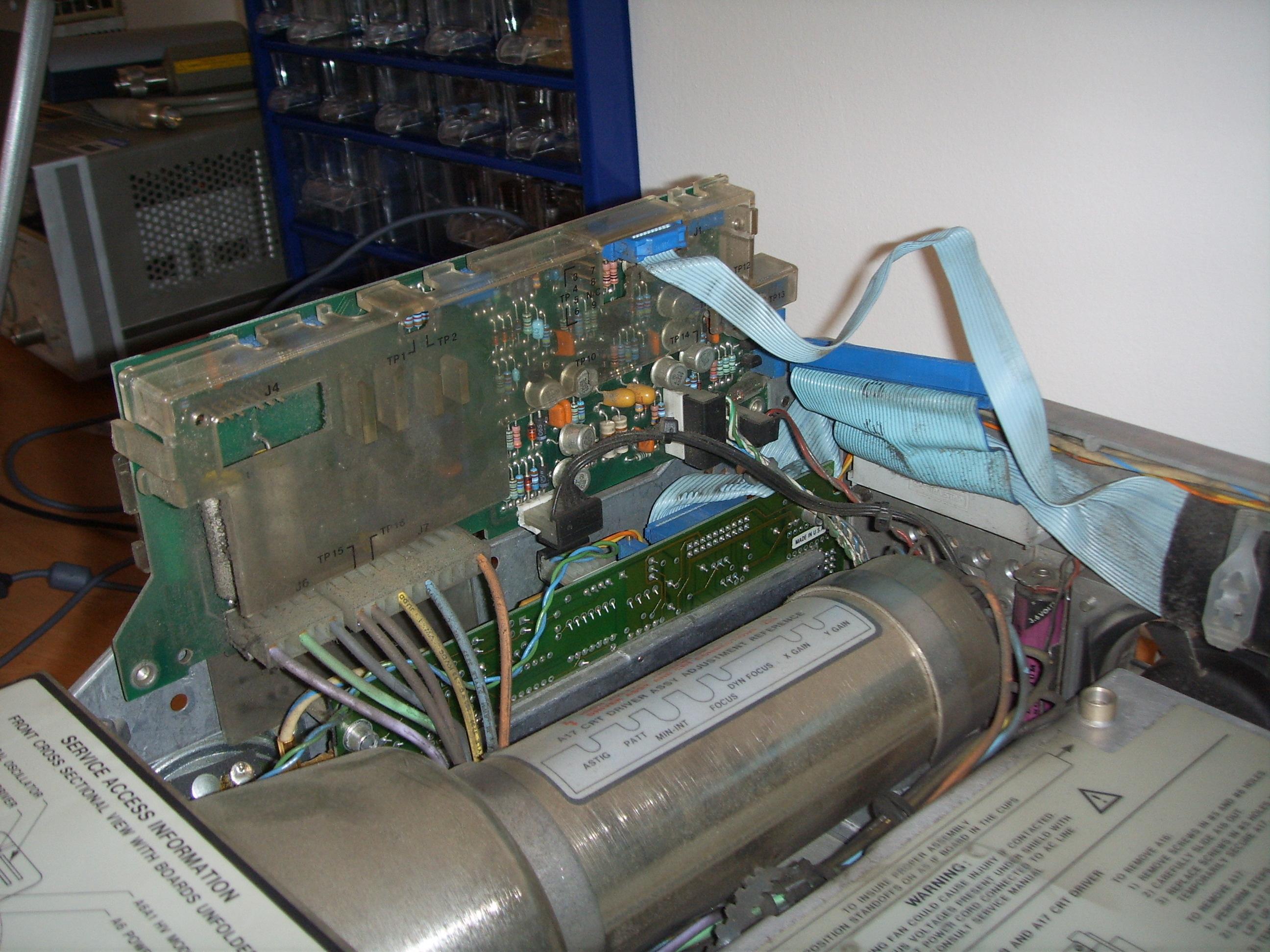Hp 8562a service manual